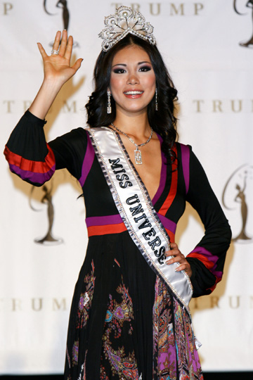Miss japan, Riyo Mori crowned Miss Universe 2007