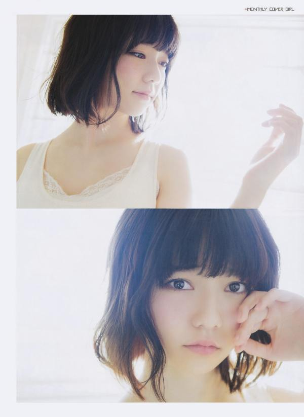 AKB48 Haruka Shimazaki Girls Never Cry on Monthly Entame Magazine 003