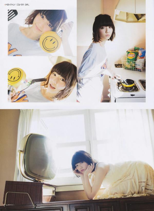 AKB48 Haruka Shimazaki Girls Never Cry on Monthly Entame Magazine 004