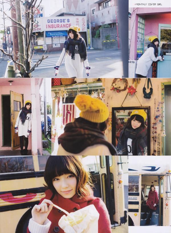 AKB48 Haruka Shimazaki Girls Never Cry on Monthly Entame Magazine 005