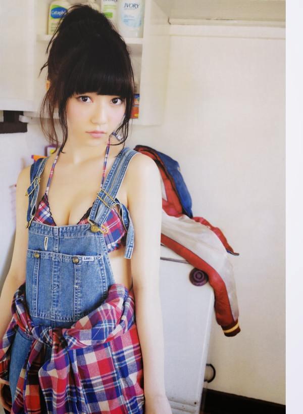 AKB48 Haruka Shimazaki Girls Never Cry on Monthly Entame Magazine 008
